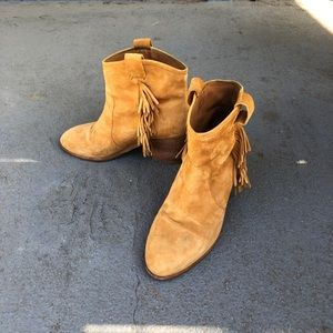 & Other Stories Western inspired cowboy tan boots